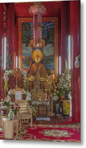 Wat Chedi Liem Phra Wihan Buddha Image Dthcm0827 Metal Print