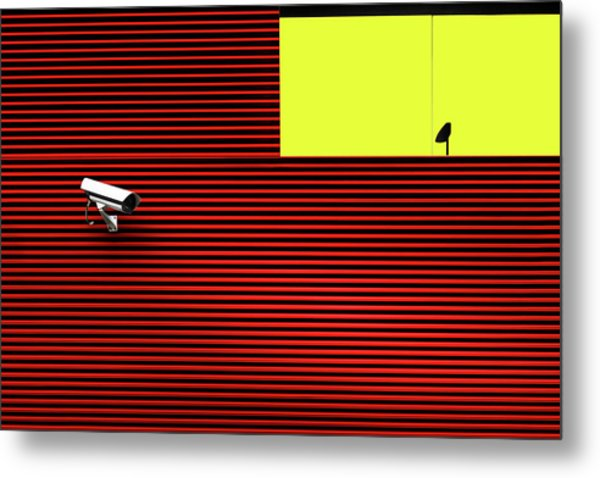 Watch Out Metal Print by Marc Huybrighs
