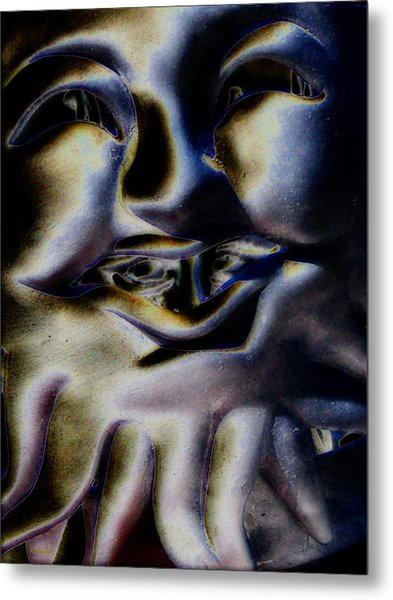 Watch What You Say Metal Print by Rebecca Flaig