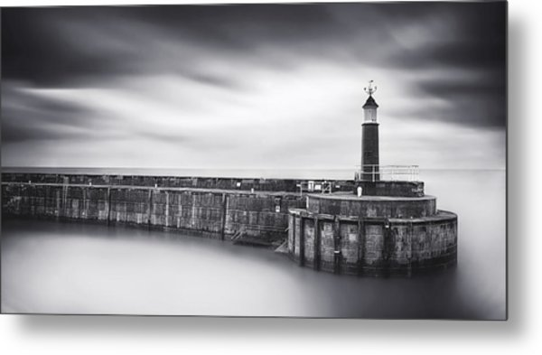 Watchet Lighthouse Metal Print