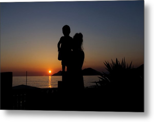 Watching The Sunset Metal Print by Ivelin Donchev
