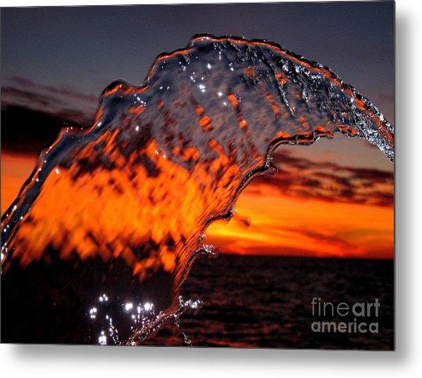 Water Art 2 Metal Print