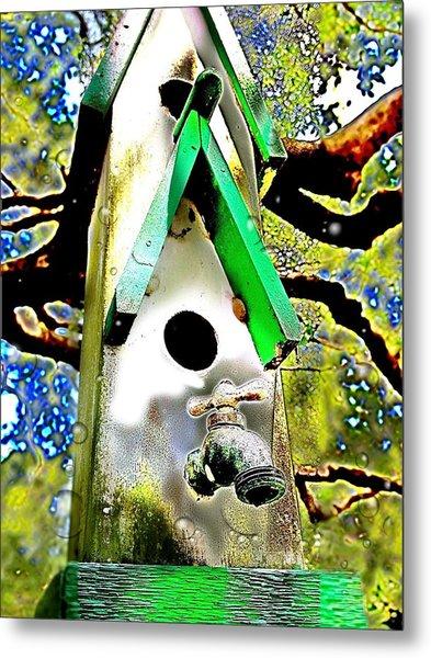 Water Birds Metal Print