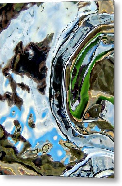Water Captivates Metal Print