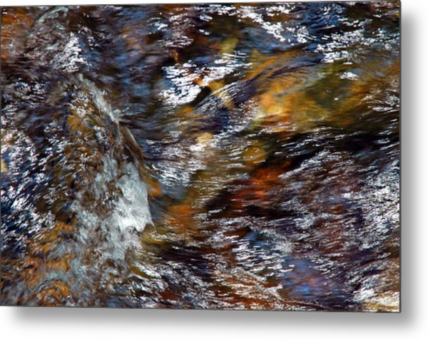 Water Color Metal Print
