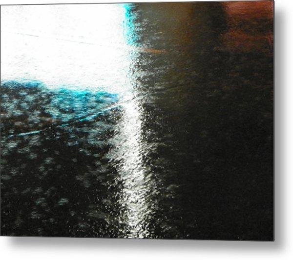 Water Colours 14 Metal Print by Bernie Smolnik