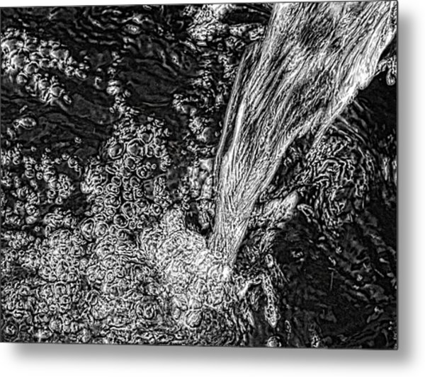 'water Fall' Metal Print