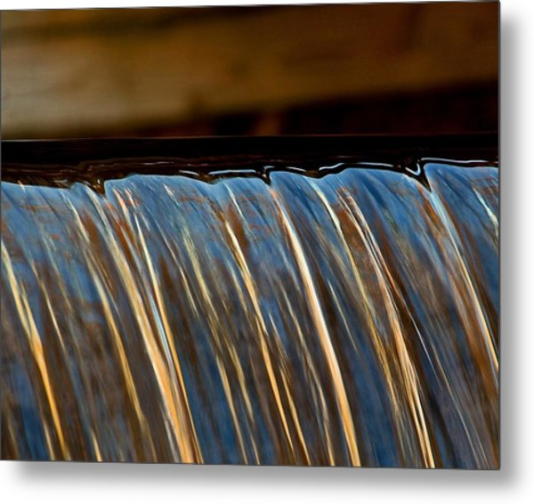 Water Falls Edge 3 Metal Print
