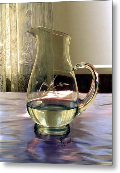 Water Pitcher Metal Print