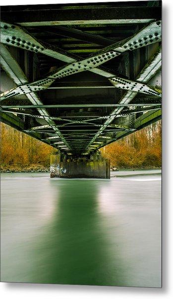 Water Under The Bridge 2 Metal Print