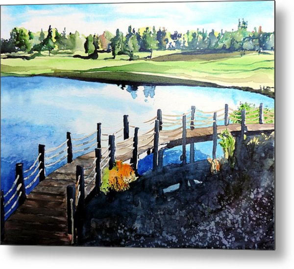 Water Valley Golf Metal Print