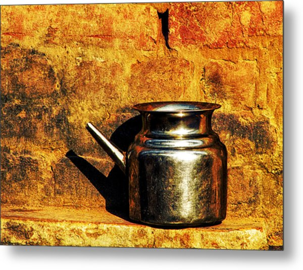 Water Vessel Metal Print