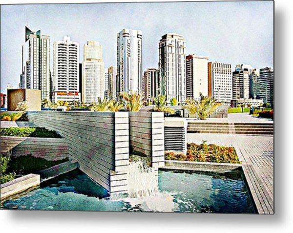 Water World Metal Print by Peter Waters