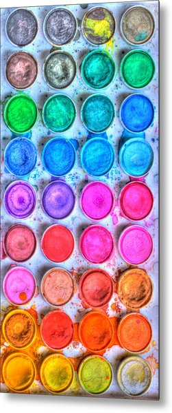 Watercolor Delight Metal Print