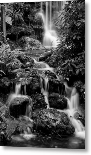 Waterfall At Rainbow Springs Metal Print
