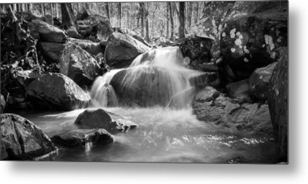 Waterfall In Southeastern Oklahoma Metal Print