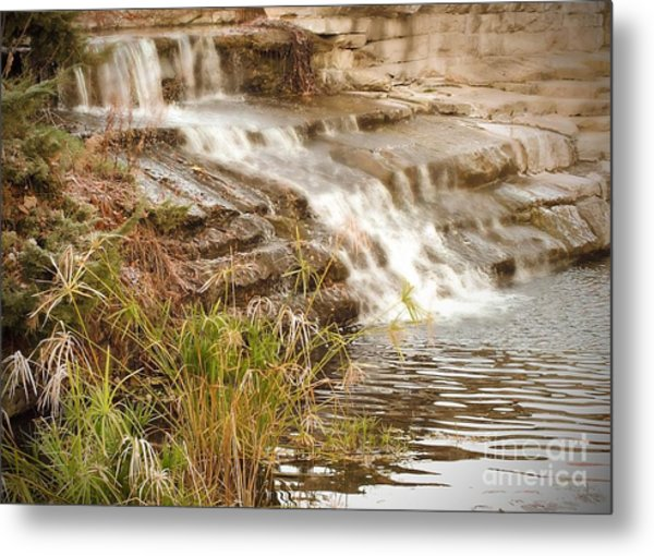 Waterfall Metal Print by Kimberly  Maiden