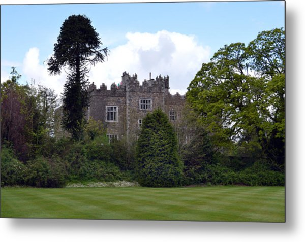 Waterford Castle Ireland. Metal Print by Terence Davis