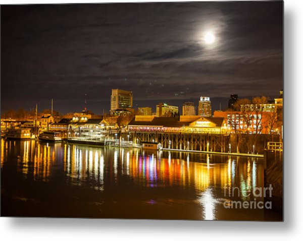Waterfront Wonder Metal Print
