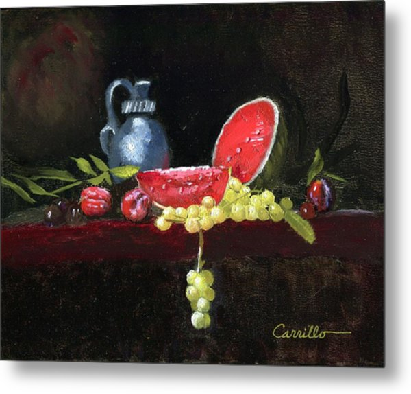 Watermellon Delight Metal Print