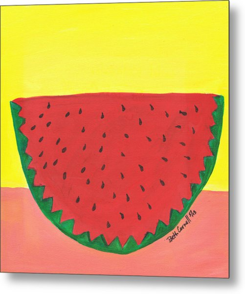 Watermelon 1 Metal Print