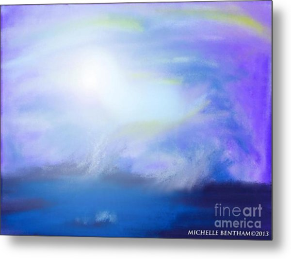 Waters Dance Metal Print by Michelle Bentham