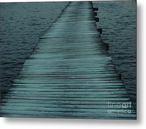 Water's Path Metal Print
