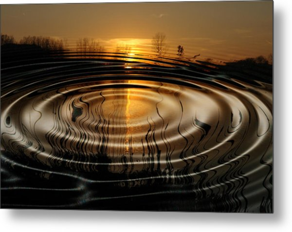 Watersun Metal Print