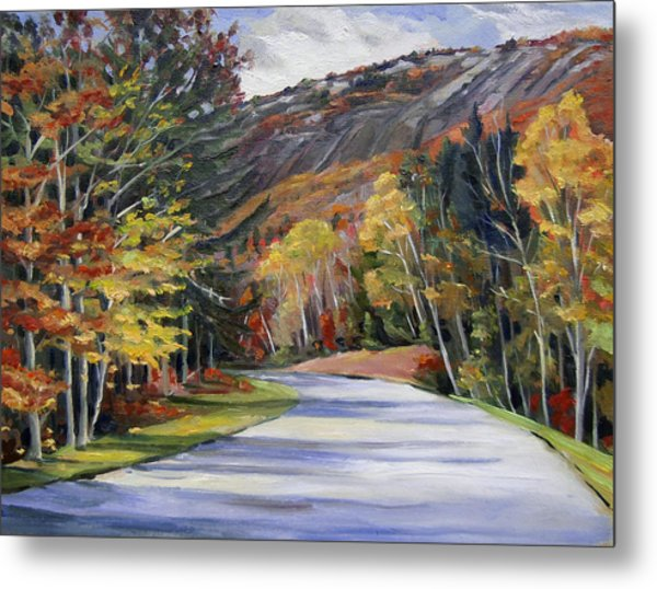 Waterville Road New Hampshire Metal Print