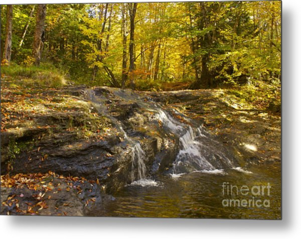 Waterville Waterfall Revisited Metal Print