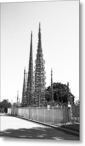 Watts Towers Metal Print