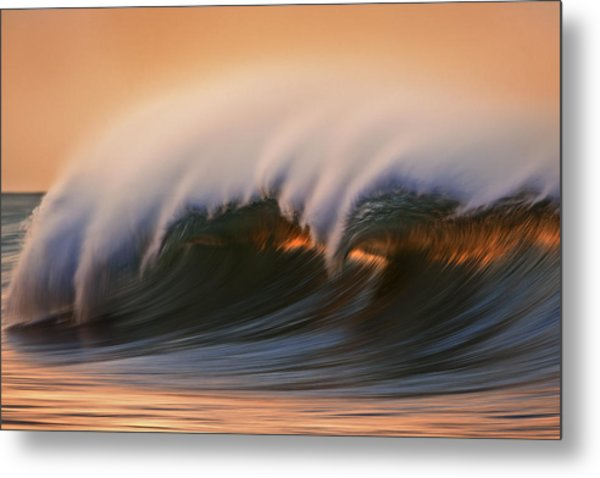 Wave  Mg6894a Metal Print