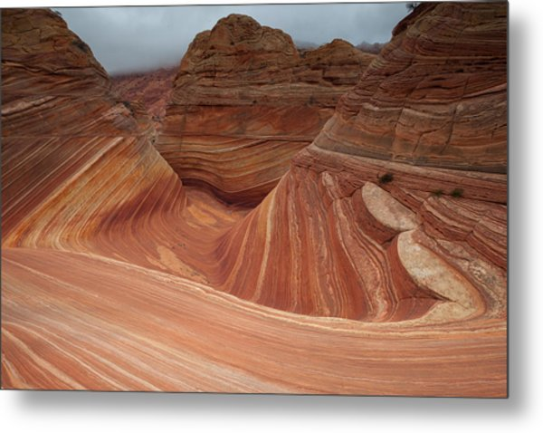 Wave Three Metal Print by Darryl Wilkinson
