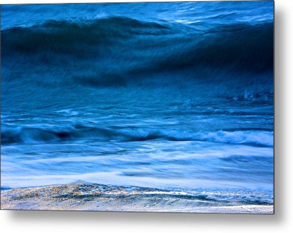 Waves Metal Print by Kathi Isserman