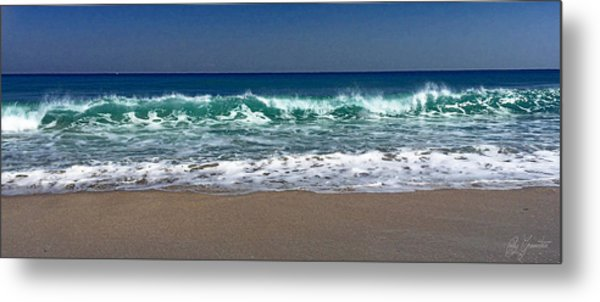 Waves Of Happiness  Metal Print