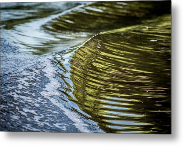 Waves Of Reflections Metal Print