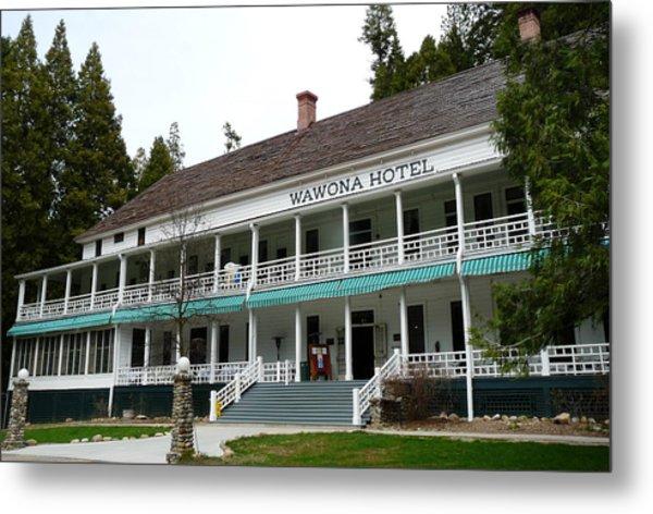 Wawona Hotel In Yosemite  Metal Print