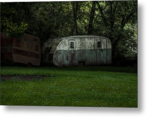 Wayback Machine Metal Print