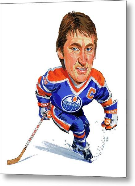 Wayne Gretzky Metal Print by Art