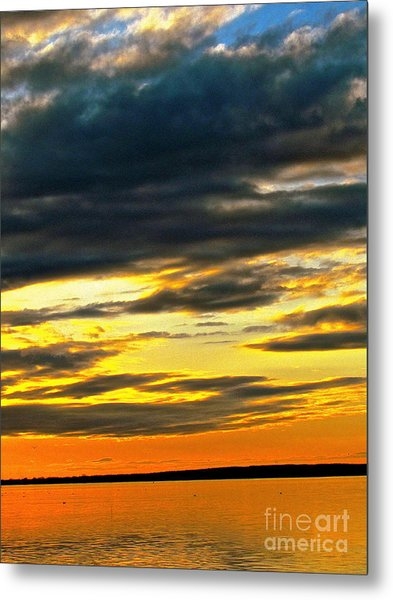 We Are One Love Metal Print by Q's House of Art ArtandFinePhotography