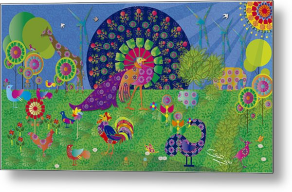 We Live In Harmony - Limited Edition 2 Of 30 Metal Print