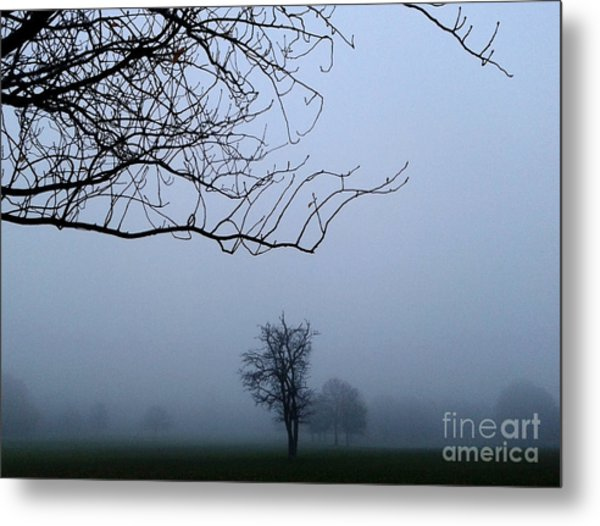 Weather Metal Print by V Waddingham