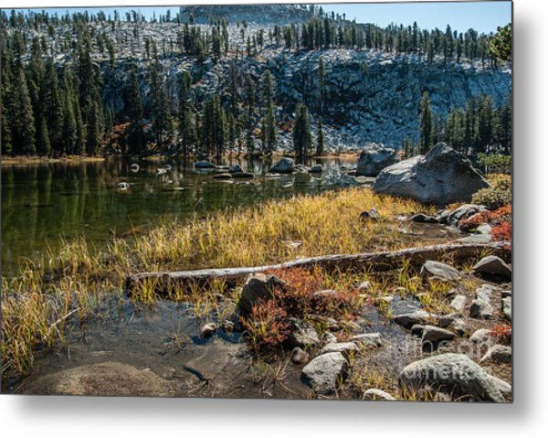 Weaver Lake- 1-7692 Metal Print by Stephen Parker