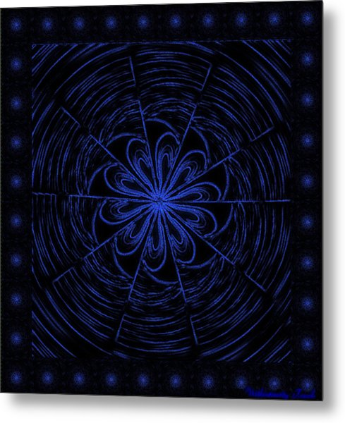 Web String Metal Print