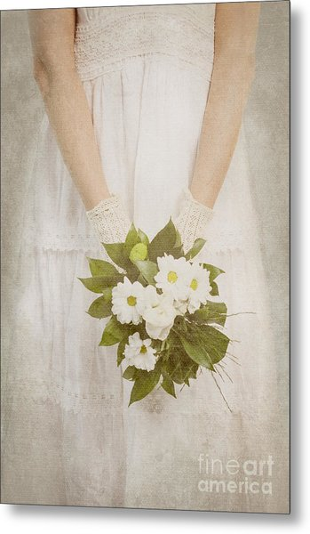 Wedding Bouquet Metal Print