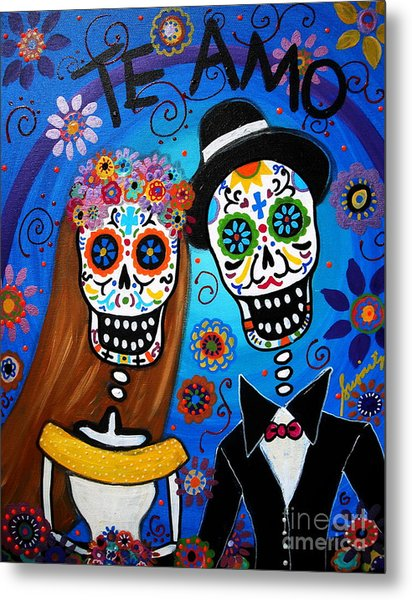 Wedding Couple  Metal Print