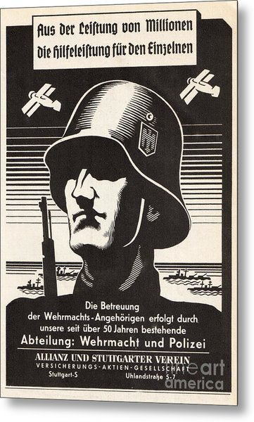 Wehrmacht Metal Print