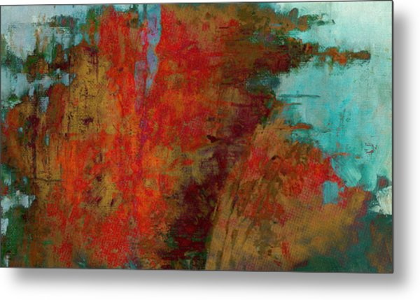 Weighed In The Balance Metal Print