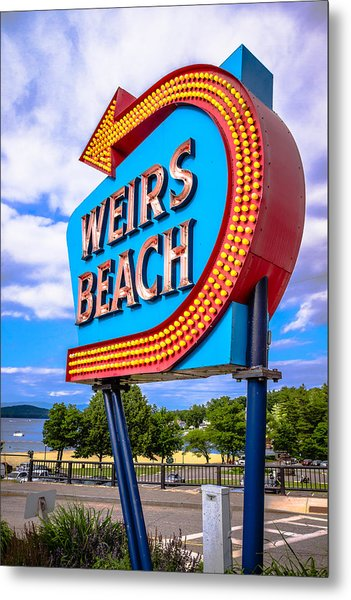 Weirs Beach Metal Print