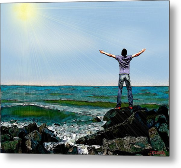 Welcome The Day Metal Print
